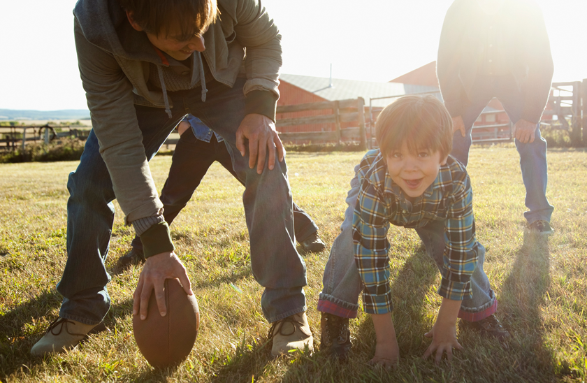 how to make a backyard football game fun for the whole family